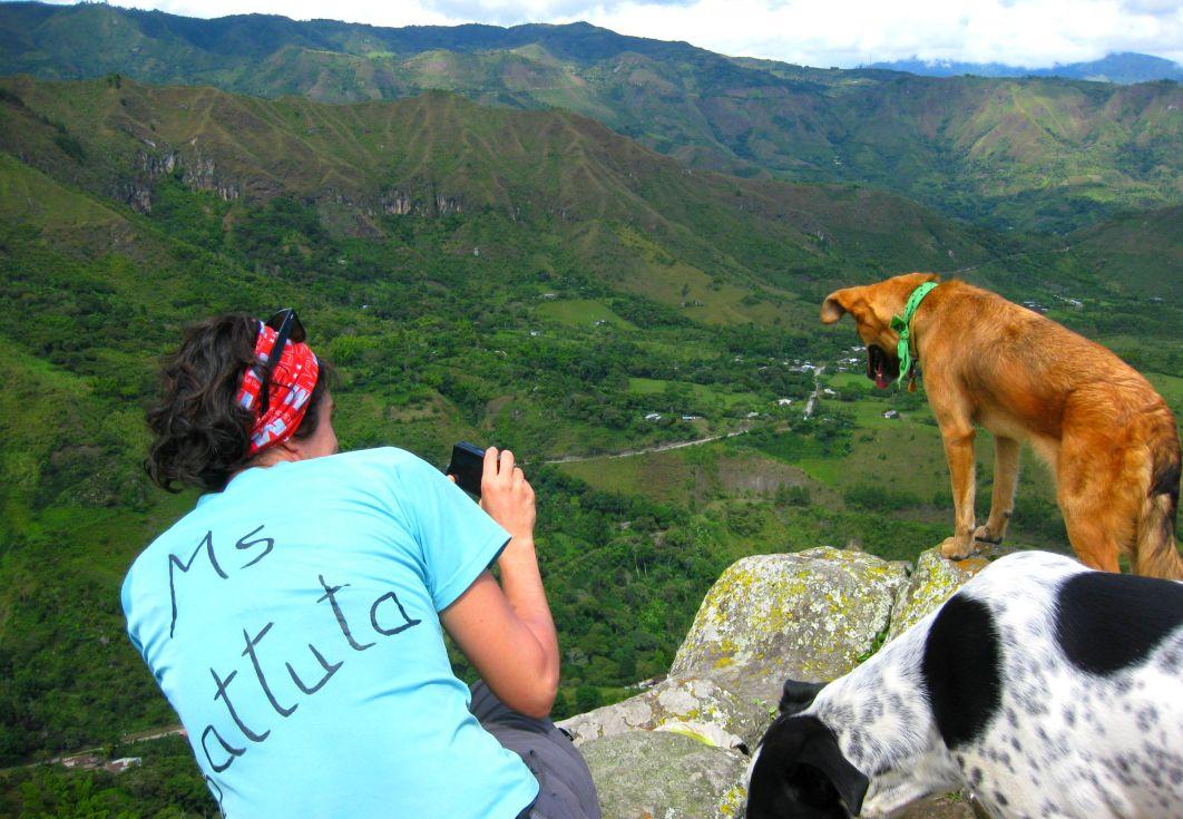 Tierradentro, Cauca, Colombia en mi último viaje con mi abuelita y mi mamá